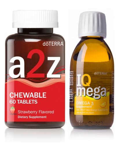 Balíček pro děti IQ Mega + Žvýkací tabletky od A po Z